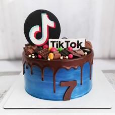 Торт Тик Ток для девочки 7 лет