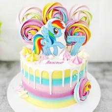 Торт дочке 7 лет