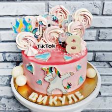 Торт для девочки 8 лет