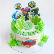 Торт на день рождения 9 лет