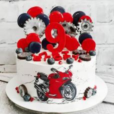 Торт сыну на 9 лет