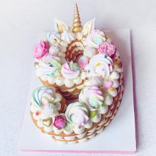 Торт на 9 лет без мастики