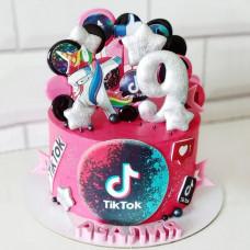 Торт дочке 9 лет