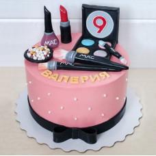 Торт косметика на 9 лет девочке