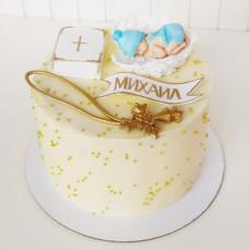 Торт на крестины ребенка