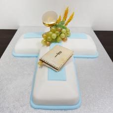 Торт в виде креста