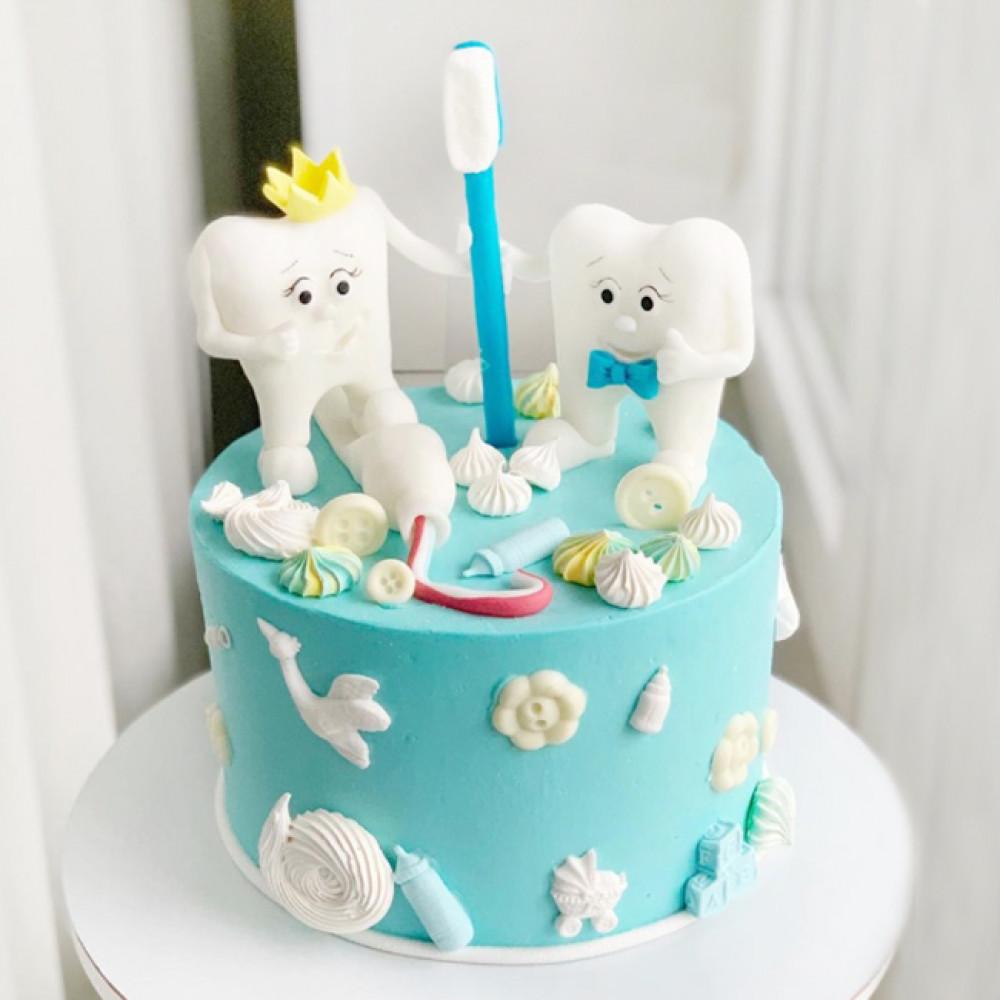 Торт на первый зубик мальчику