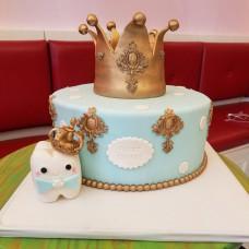 Торт зубик для мальчика