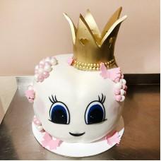 Торт в форме зуба