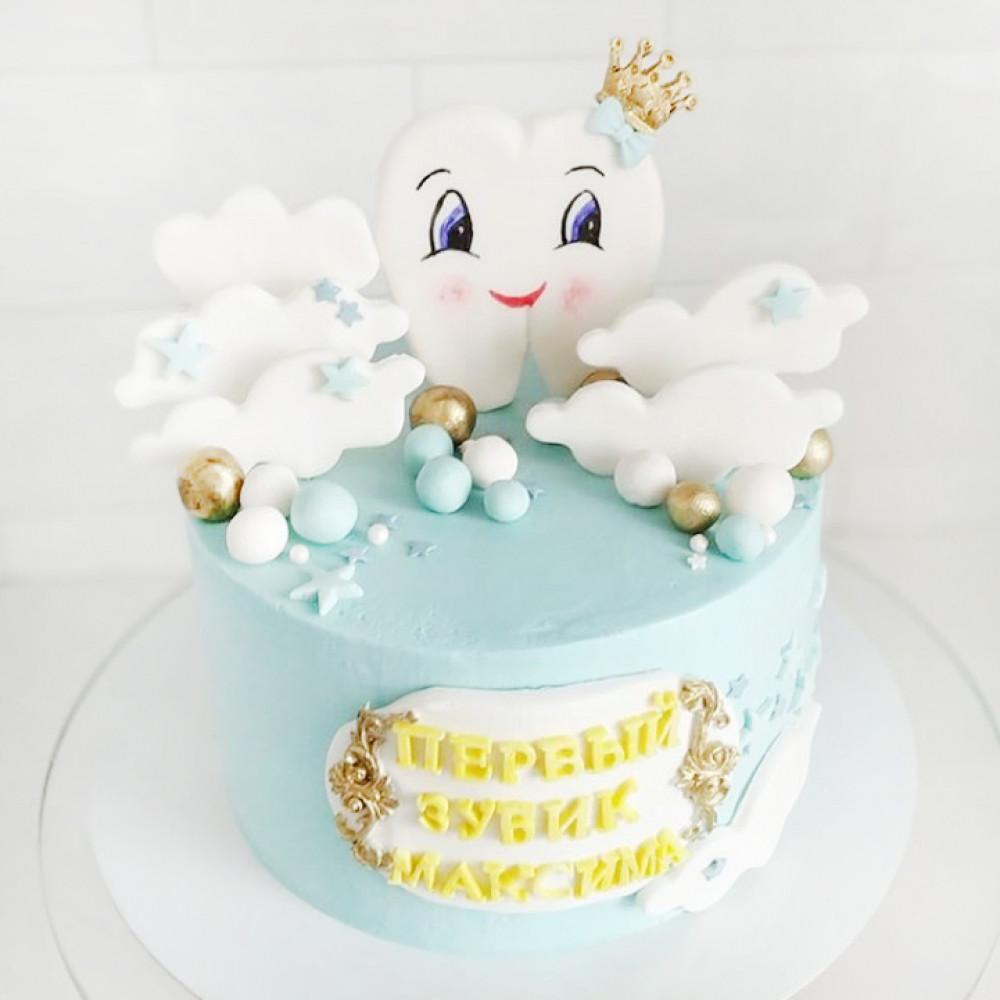 Торт на 1 зубик мальчику