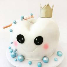 Торт зуб