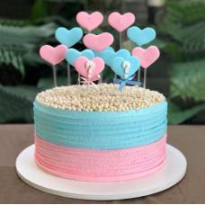 Торт в стиле «Baby Shower»