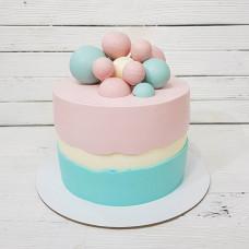 Торт на гендерную вечеринку