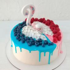 Торт «Будет девочка или мальчик»