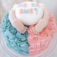 Торт «Узнай пол ребенка»