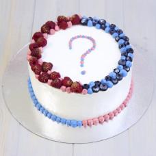 Торт секрет мальчик или девочка