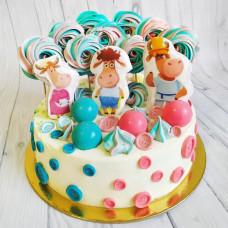 Торт на рождение тройняшек