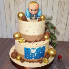 Торт новорожденному сыну