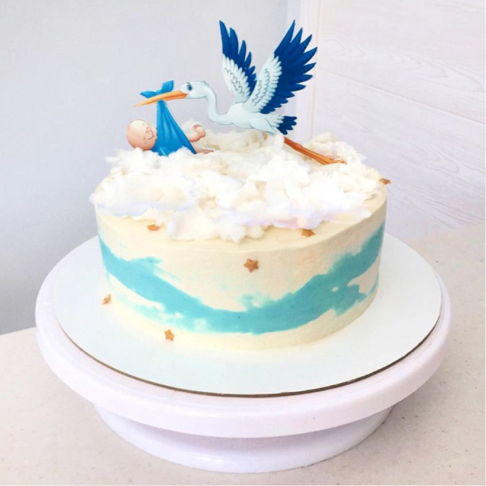 Торт для встречи из роддома