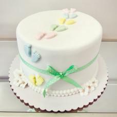 Торт на рождение 4 детей