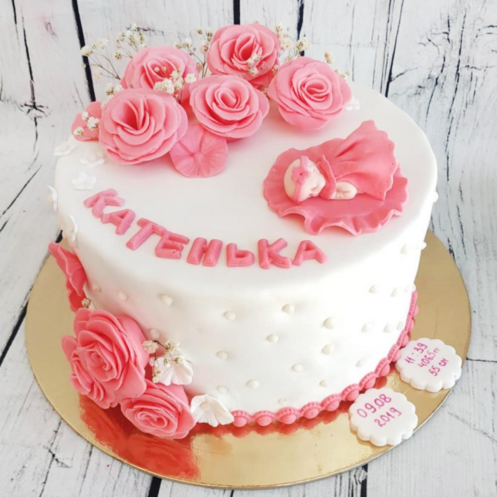 Торт на рождение дочки