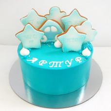 Прикольный торт на рождение ребенка