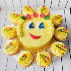 Торт для выпускников детского сада