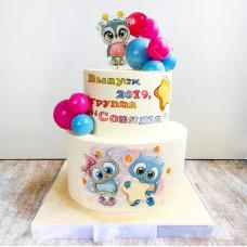 Торт для детей в детский сад