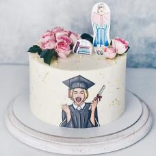 Торт на окончание экзаменов