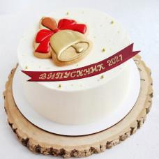 Торт на школьный выпускной 2021