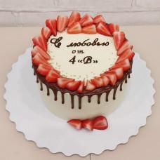 Выпускной торт учителям