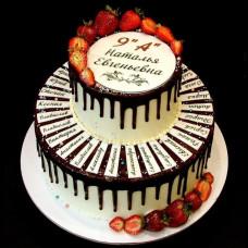Торт на выпускной девятиклашек