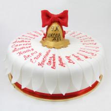 Торт на последний звонок