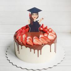 Торт выпускнице из ВУЗа
