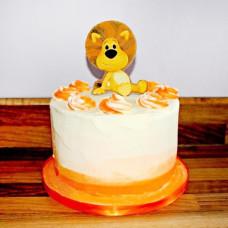 Детский торт с Шумным львёнком Ра Ра