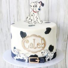 Торт с далматинцами