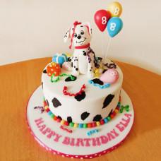 Торт далматинец