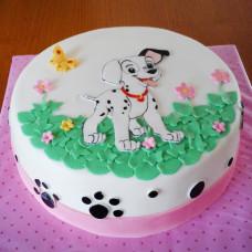 Торт далматинец девочке