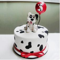 Торт щенок далматинца