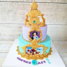 Торт принцесса Жасмин