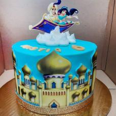 Торт по мультфильму Aladdin