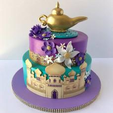 Двухъярусный торт Алладин