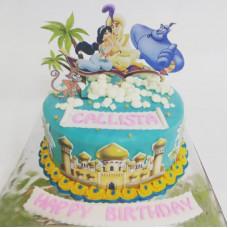 Торт по мотивам сказки об Аладдине