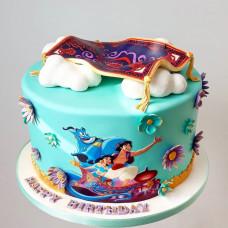 Торт с Аладдином для мальчика