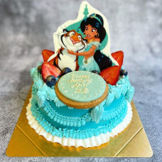 Торт с героями мультфильма Алладин