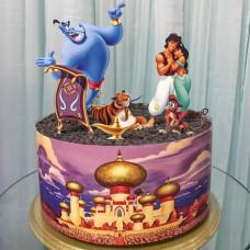 Торт по мультику Алладин