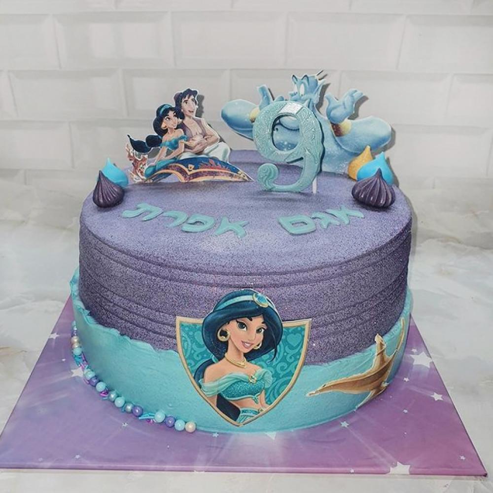 Торт с капкейками в стиле Алладин