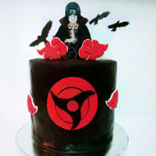 Торт в стиле аниме для девочки