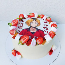 Торт мороженое Аниме