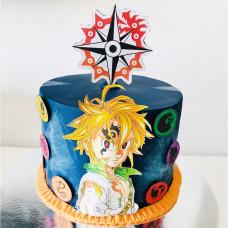 Торт с аниме персонажем